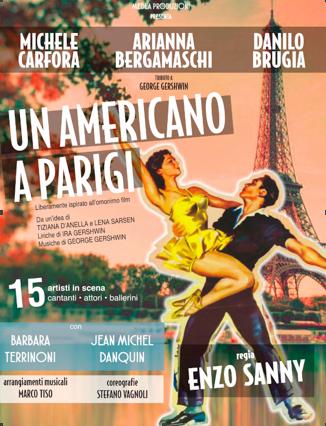 NOVARA: un americano a Parigi, 8 Marzo 2017